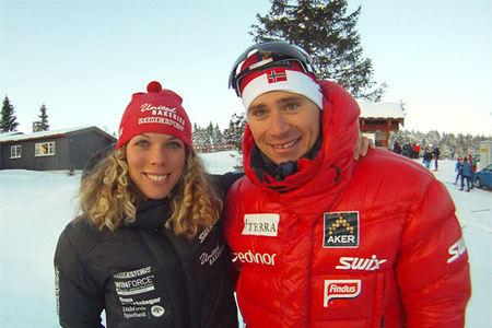 Sandra Hansson og Ola Vigen Hattestad vant Romjulsrennet Sjusjøen 2010