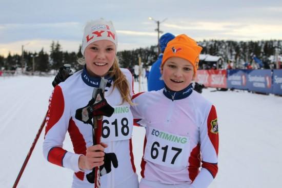 Pia Stangebye og Trym Hagen fra Lyn.